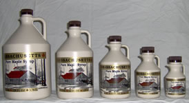 Maple Syrup (Traditional Jug, Amber Grades)