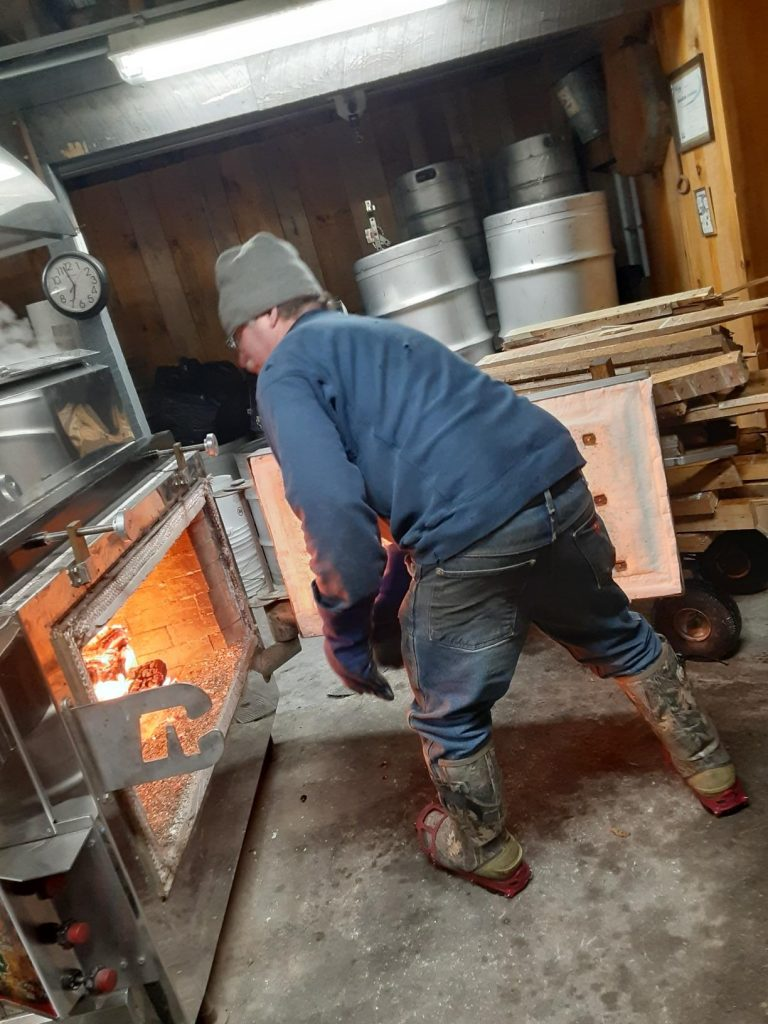 Keith Dufresne maple sugaring